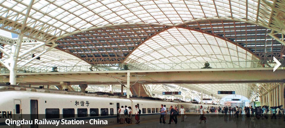 Qingdau Railway Station - China